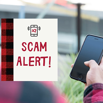Social Scam Alert - IQ Credit Union