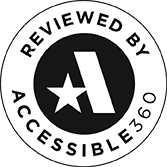 Reviewed by Accessible360 logo