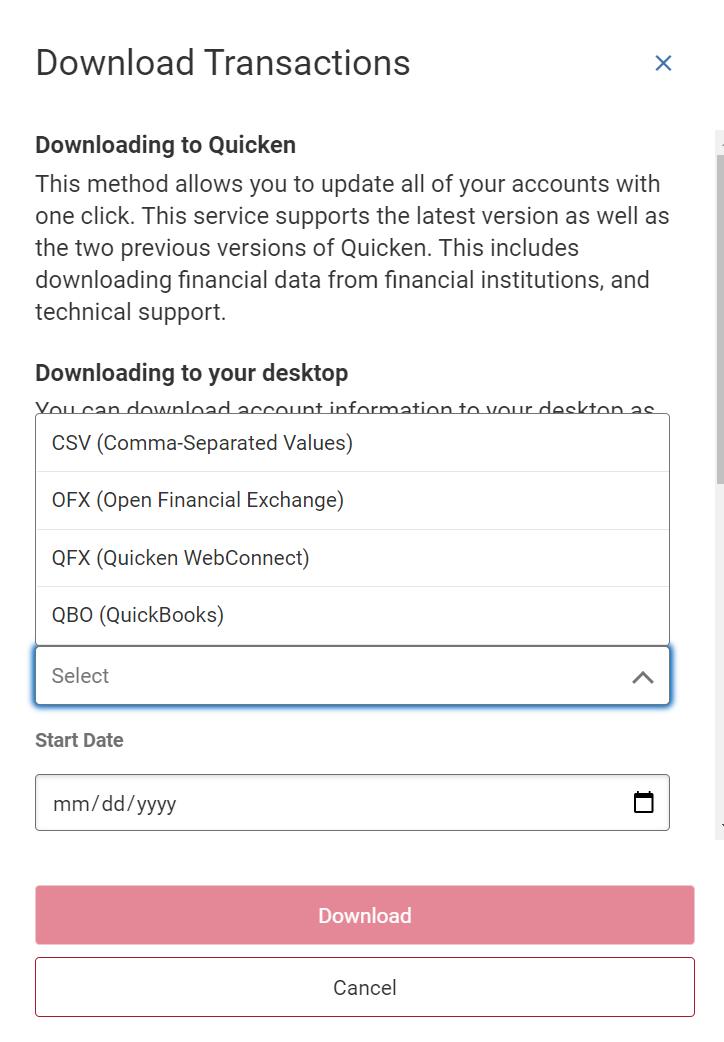 export-download-transactions
